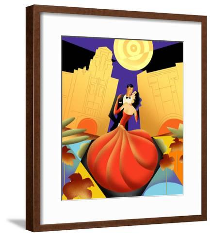 Deco Couple Ca-Sergio Baradat-Framed Art Print