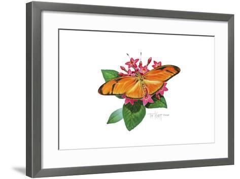 Julia Butterfly-Tim Knepp-Framed Art Print