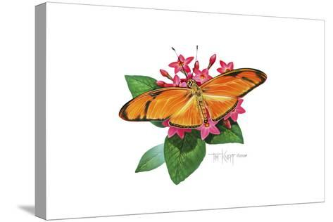 Julia Butterfly-Tim Knepp-Stretched Canvas Print