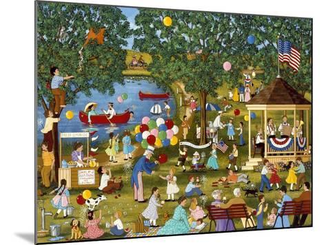 Fourth of July Lake-Sheila Lee-Mounted Giclee Print