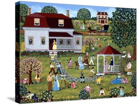 Easter Egg Hunt-Sheila Lee-Stretched Canvas Print
