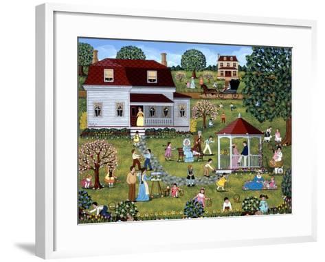 Easter Egg Hunt-Sheila Lee-Framed Art Print