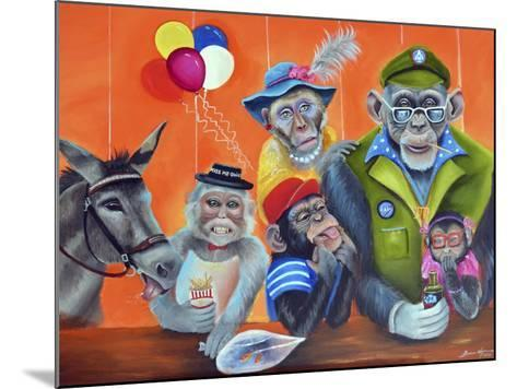 Cheeky Monkey-Sue Clyne-Mounted Giclee Print