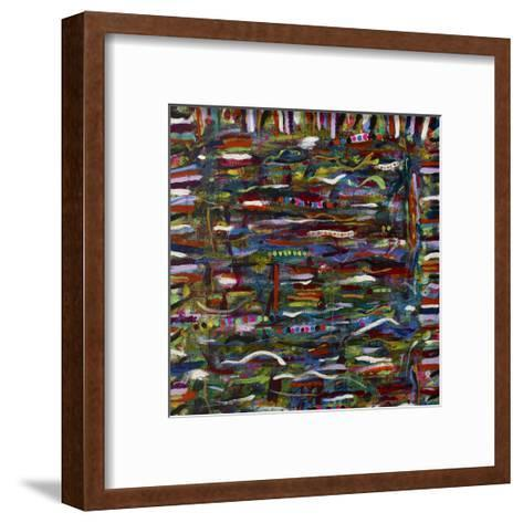 In Rainbows- Sona-Framed Art Print