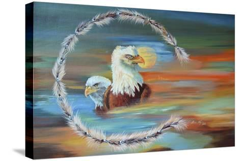 Dreamscape-Sue Clyne-Stretched Canvas Print