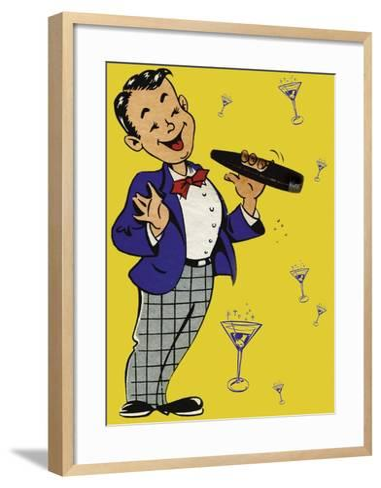 Cigar Chap-Tim Wright-Framed Art Print