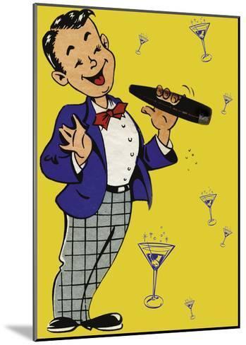 Cigar Chap-Tim Wright-Mounted Giclee Print