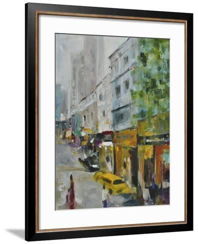 Hong Kong Central-Solveiga-Framed Art Print