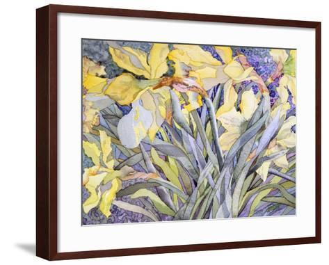 Daffodils, Van Vleck-Sharon Pitts-Framed Art Print