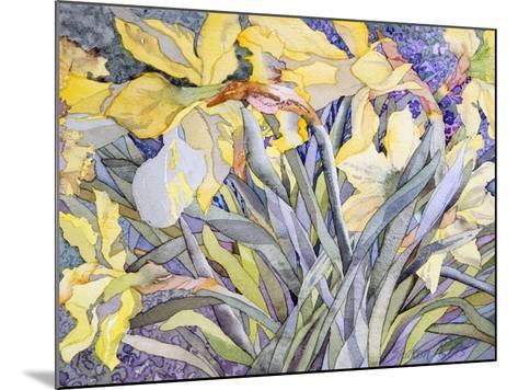 Daffodils, Van Vleck-Sharon Pitts-Mounted Giclee Print