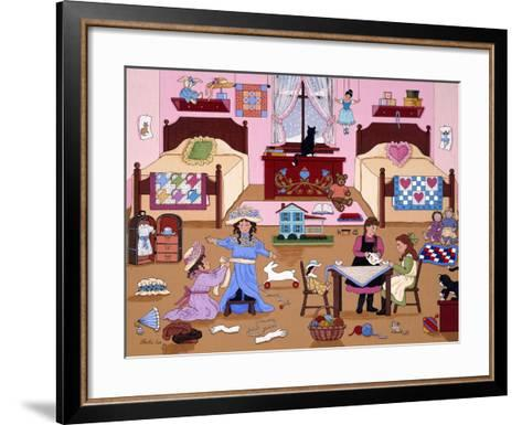 Child's Play for Girls-Sheila Lee-Framed Art Print