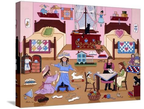 Child's Play for Girls-Sheila Lee-Stretched Canvas Print