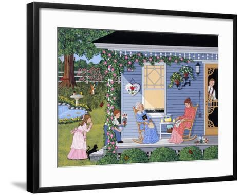 A Quiet Mother's Day-Sheila Lee-Framed Art Print