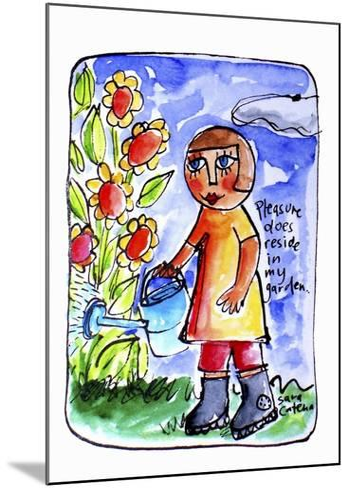 Watercolour Planet - Surrender 2-Sara Catena-Mounted Giclee Print