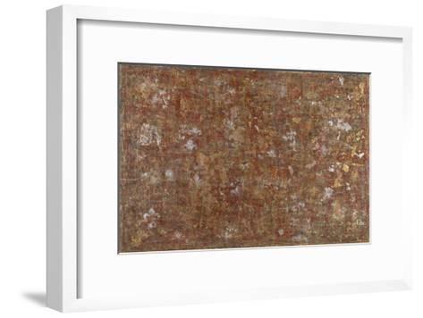 Shades of Siena- Sona-Framed Art Print