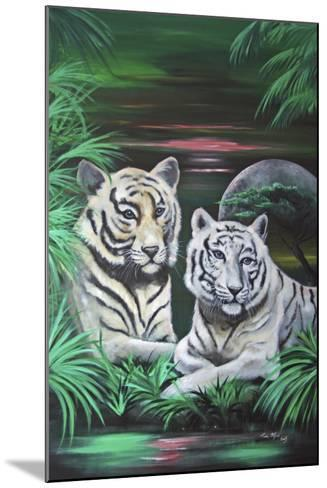 Fantasy Tigers-Sue Clyne-Mounted Giclee Print