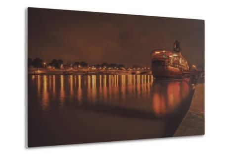 Paris Lost Boat-Sebastien Lory-Metal Print