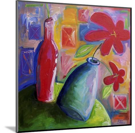 Hibiscus Morning-Sara Catena-Mounted Giclee Print