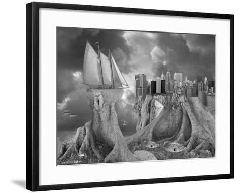 Fish out of Water-Thomas Barbey-Framed Art Print