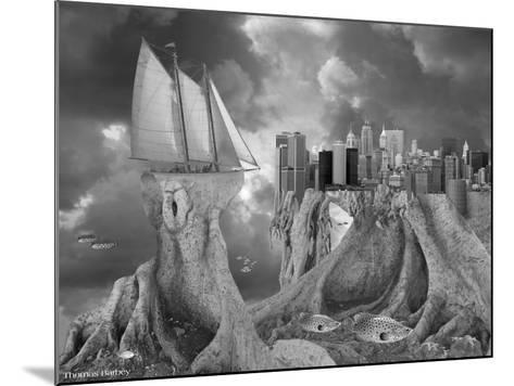 Fish out of Water-Thomas Barbey-Mounted Giclee Print