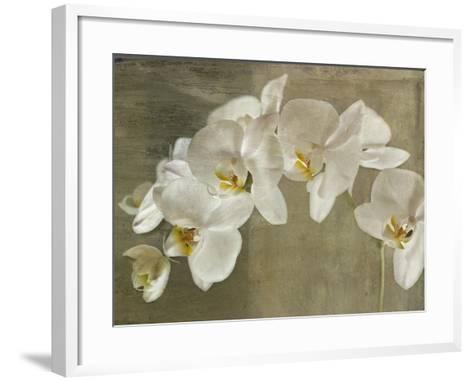 Painted Orchid-Symposium Design-Framed Art Print