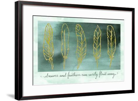 Gathering Feathers Two-Tina Lavoie-Framed Art Print