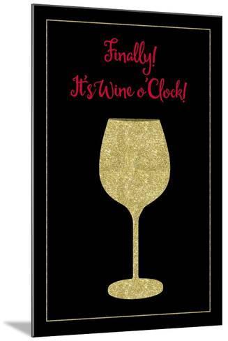 Wine O Clock-Tina Lavoie-Mounted Giclee Print