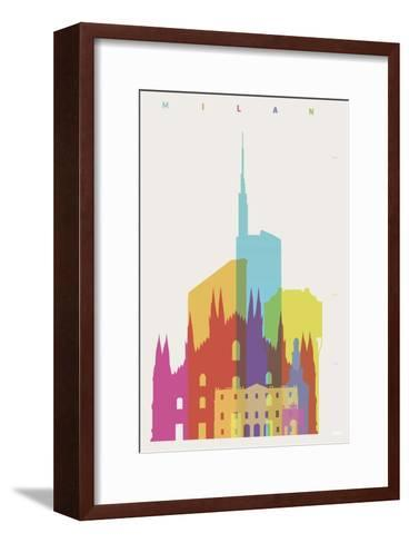 Milan-Yoni Alter-Framed Art Print