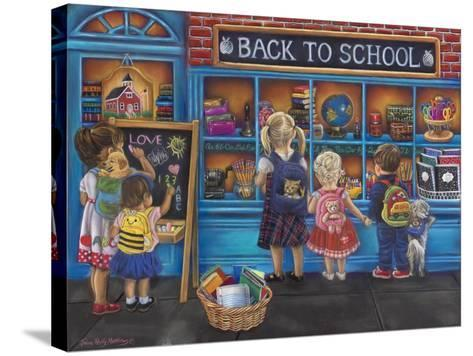 Back to School-Tricia Reilly-Matthews-Stretched Canvas Print