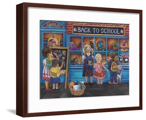 Back to School-Tricia Reilly-Matthews-Framed Art Print