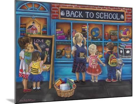 Back to School-Tricia Reilly-Matthews-Mounted Giclee Print