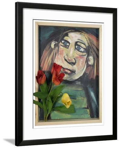 Flower Child-Tim Nyberg-Framed Art Print