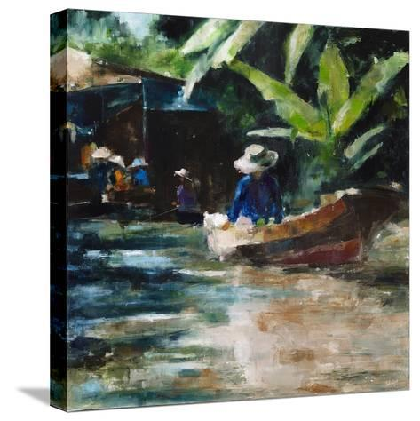 Sunny-Solveiga-Stretched Canvas Print