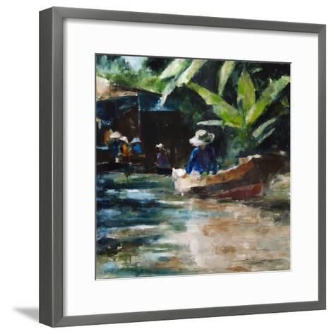 Sunny-Solveiga-Framed Art Print
