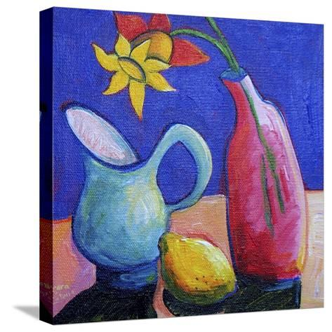 Still Life with Daffodil-Sara Catena-Stretched Canvas Print