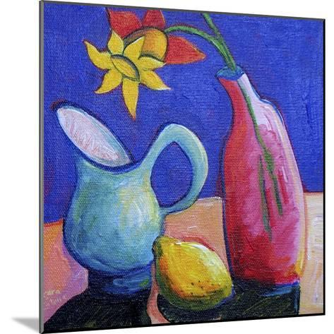 Still Life with Daffodil-Sara Catena-Mounted Giclee Print
