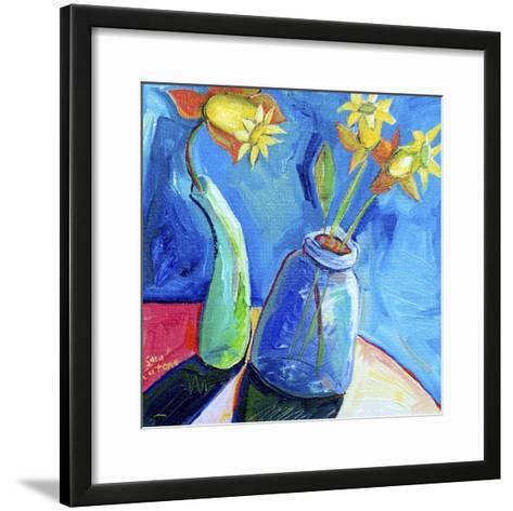 Spring's First Blooms-Sara Catena-Framed Art Print