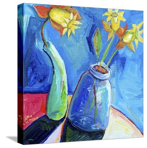 Spring's First Blooms-Sara Catena-Stretched Canvas Print