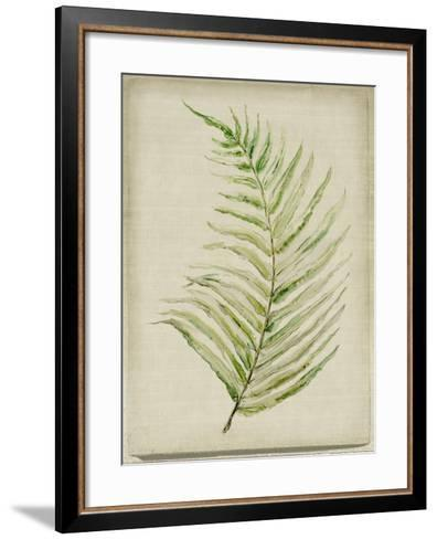 Fern 1-Symposium Design-Framed Art Print