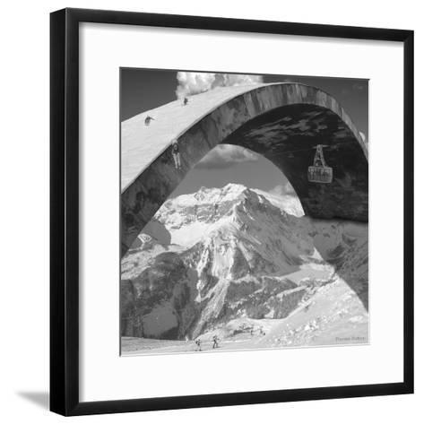 Over the Hill-Thomas Barbey-Framed Art Print