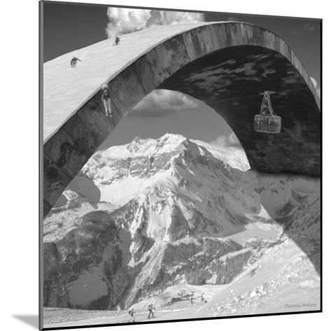 Over the Hill-Thomas Barbey-Mounted Giclee Print