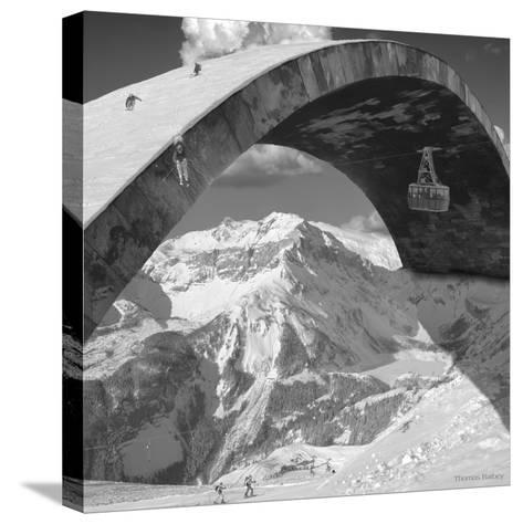 Over the Hill-Thomas Barbey-Stretched Canvas Print