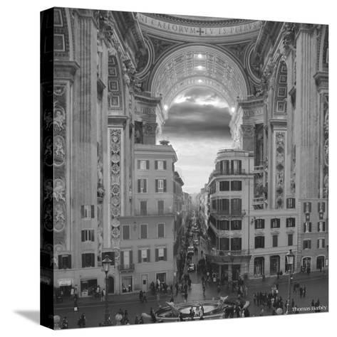 A Hole in the Wall-Thomas Barbey-Stretched Canvas Print