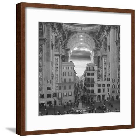 A Hole in the Wall-Thomas Barbey-Framed Art Print