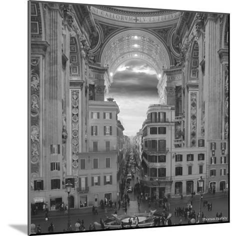 A Hole in the Wall-Thomas Barbey-Mounted Giclee Print