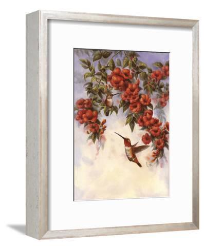 Hummingbird E-Wanda Mumm-Framed Art Print
