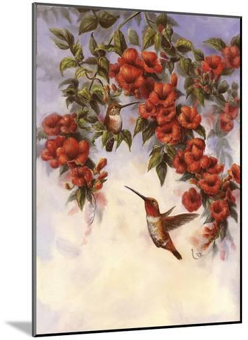 Hummingbird E-Wanda Mumm-Mounted Giclee Print