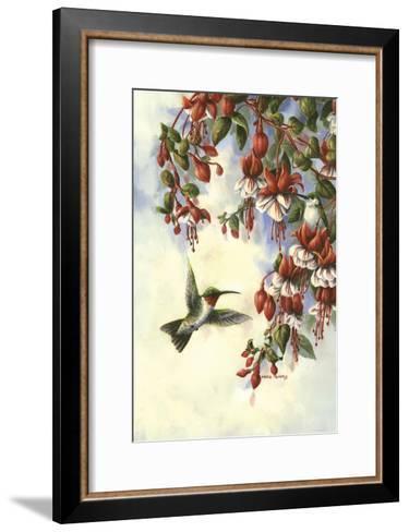 Hummingbird D-Wanda Mumm-Framed Art Print
