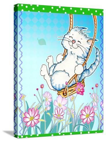 Spring Swing-Valarie Wade-Stretched Canvas Print