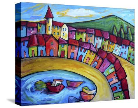 Monaco, Cote d'Azur - France-Sara Catena-Stretched Canvas Print